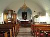 Interior de la iglesia de Vik
