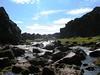 Falla que separa en dos placas el oceano atlantico psa por el centro de islandia (Pingvellir)