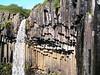 Svartifoss, con placas basalticas en la pared