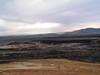 Krafla, restos de una antigua erupcion volcanica