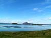 Lago Myvatn al norte de la isla junto al pequeño pueblo de Husavik