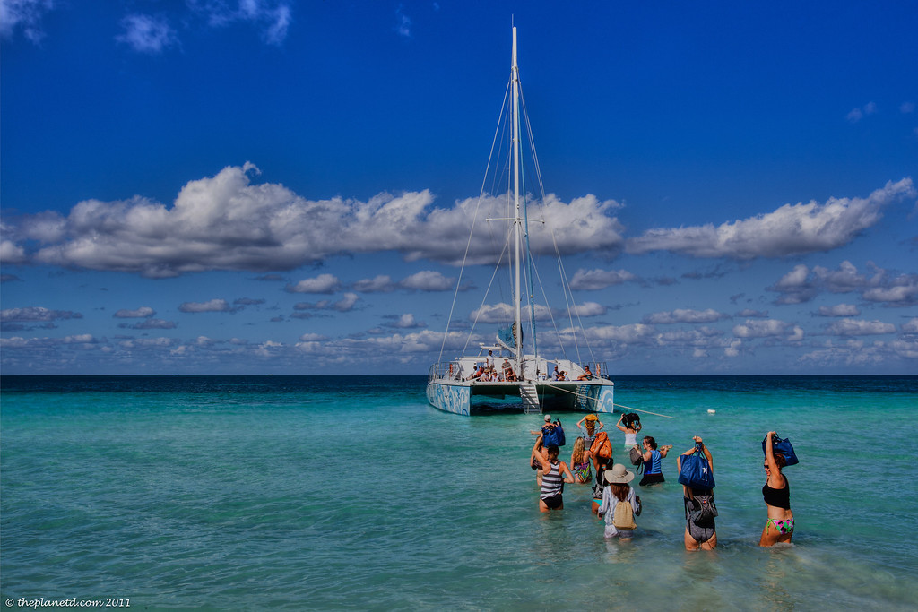 Negril-Jamaica-catamaran