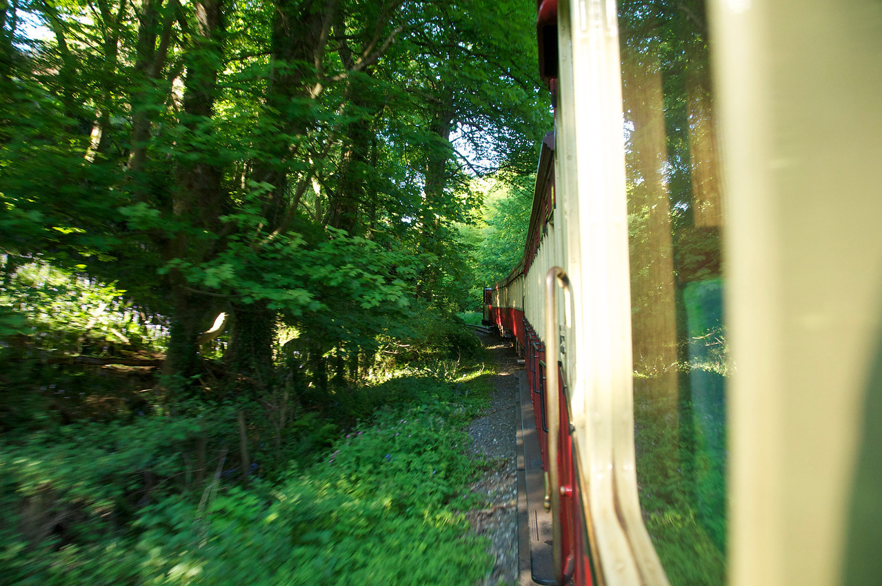 Steam Train to Castletown, Isle of Man