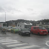 Waiting for the ferry in Oban.
