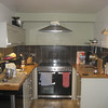 The kitchen at our self-catering place in Calgary, Mull.