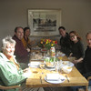 Conrad Paulus, David Wilson, Judy Skelton, Duncan Lawie, Lucy and Falcon Scott at our self-catering place in Calgary, Mull.