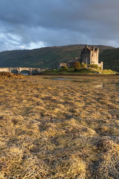 Sunset at Elian Donan Castle, Isle of Skye, Scotland