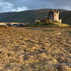 Sunset at Elian Donan Castle, Isle of Skye, Scotland