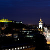 Night view, Edinburgh, Scotland