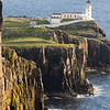 Nest point lighthouse, Isle of Skye, Scotland