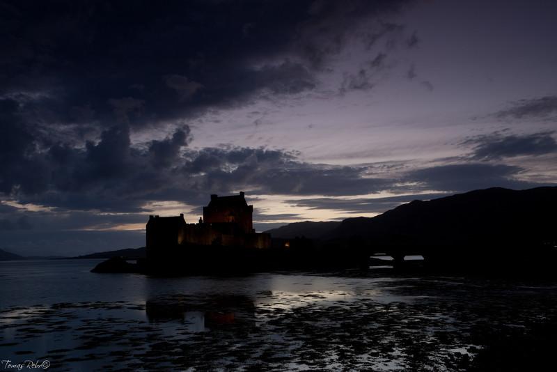 Elian Donan Castle, Isle of Skye, Scotland