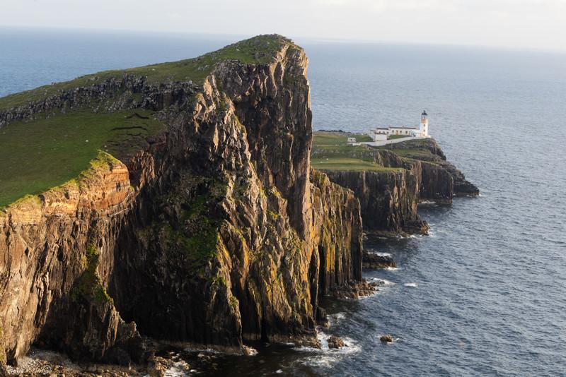 Nest point lighthouse, Isle of Skye, Scotland