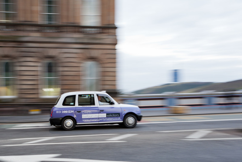 TAXI, Edinburgh, Scotland