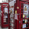 Telephone, booth, Edinburgh, Scotland