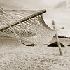 Hammock on Morar beach, Scotland