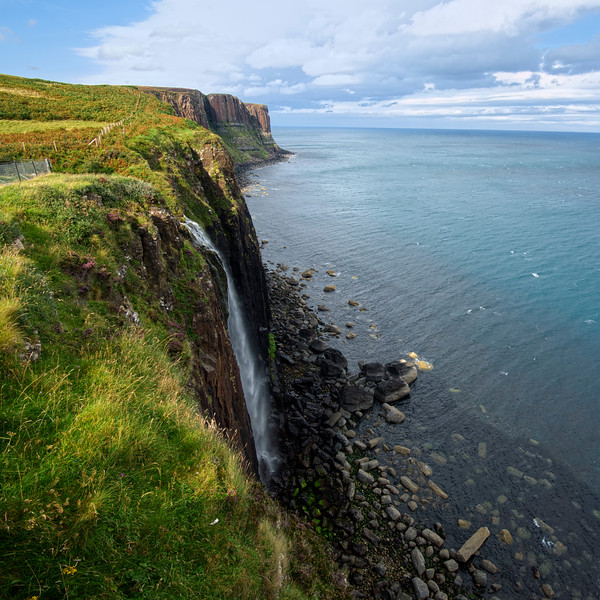 Kilt Rock Falls, Isle of Skye, Scotland