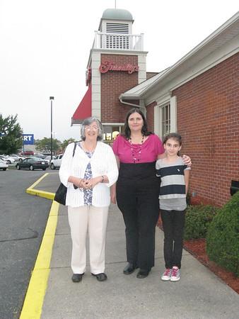 Isobel's Visit 9/6-10/6/2012