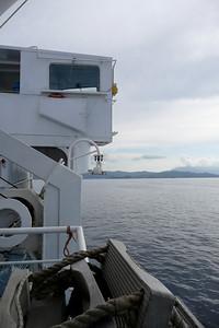Approaching Isola d'Elba