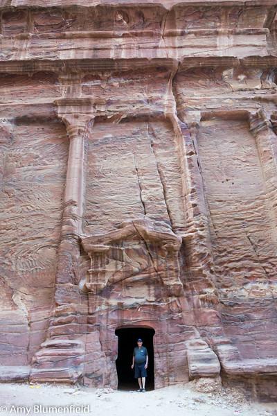 Dad at Petra