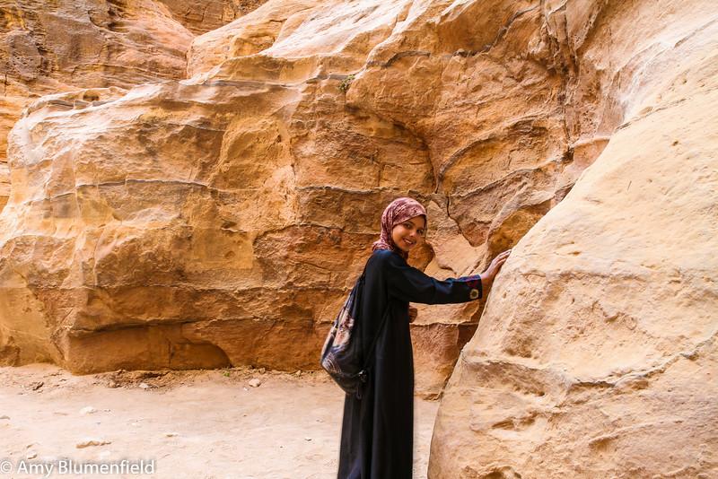 Zima at Petra