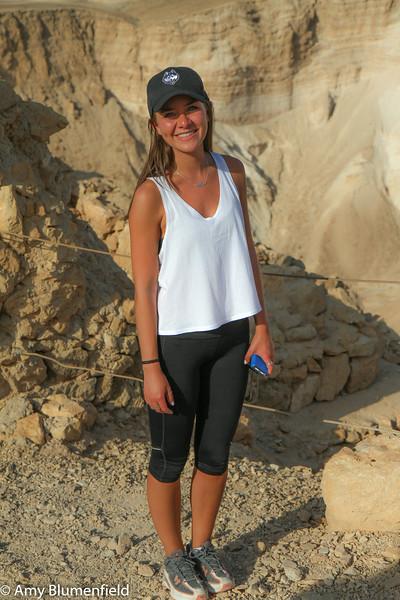 Elyssa at Masada