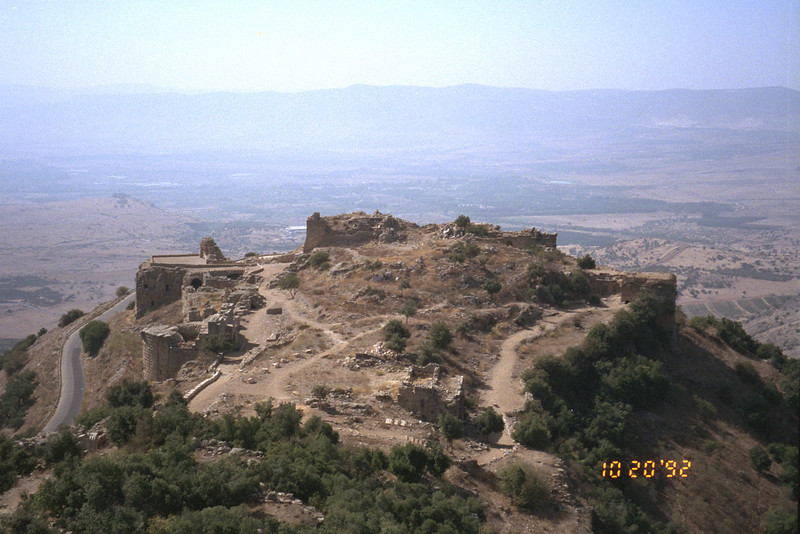 Nimrod's Fortress, an old crusader fort