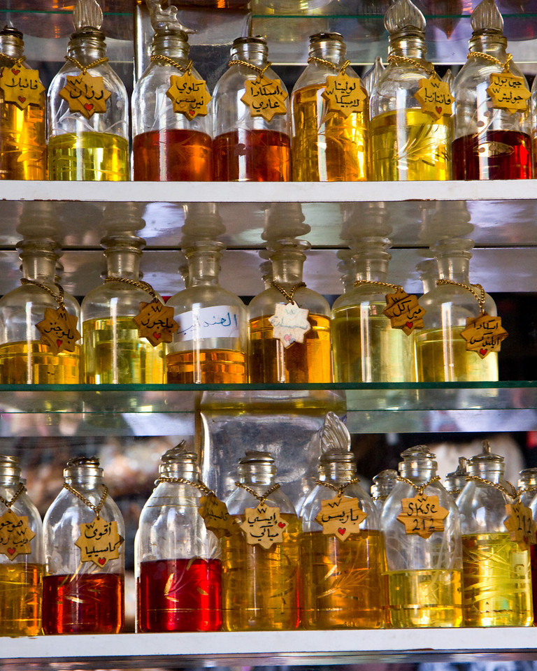 Perfume seller near the Damascus gate