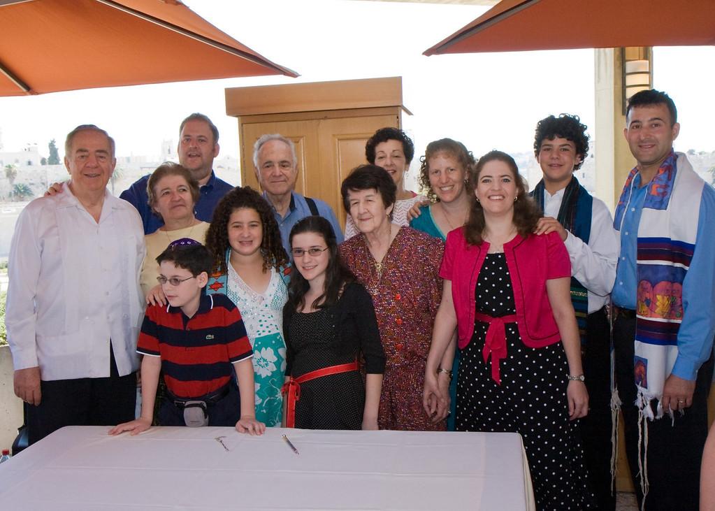 Bat Mitzvah families