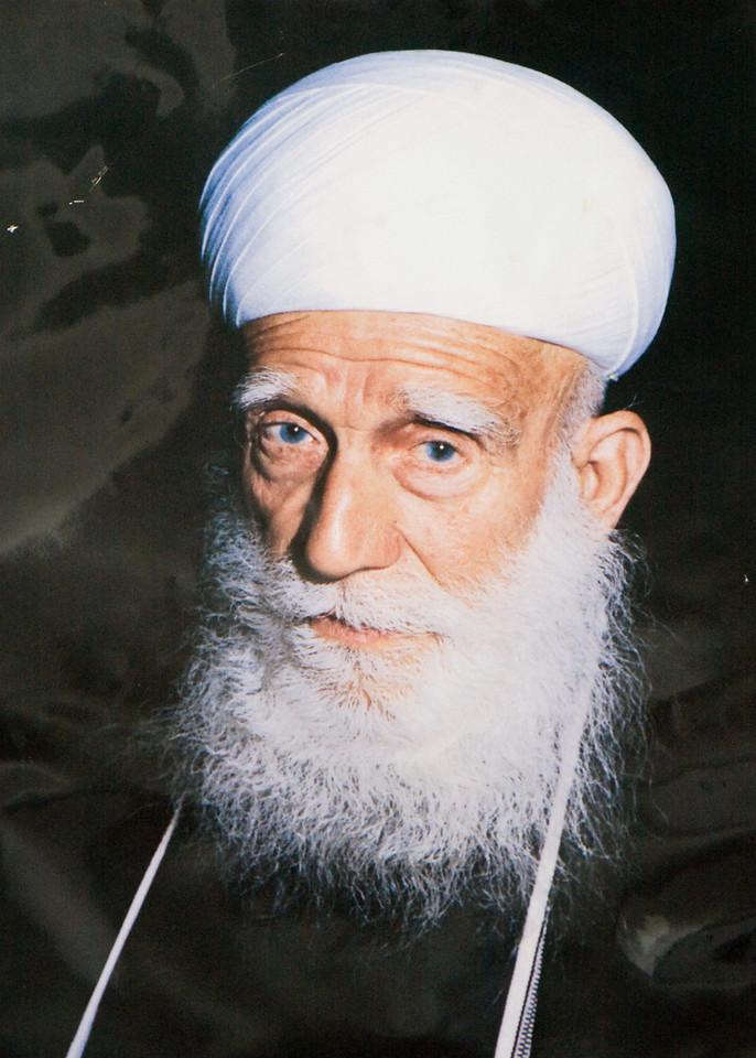 Druze elder