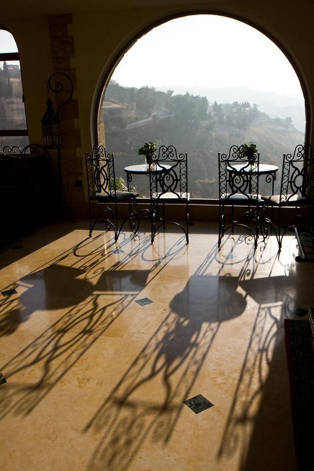 Mt. Zion hotel lobby