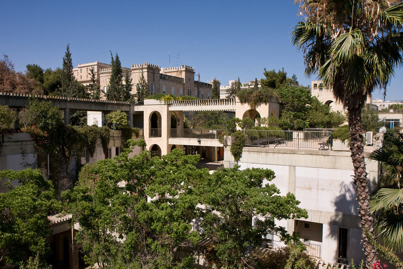 The UAHC center, near the King David hotel, is very beautiful