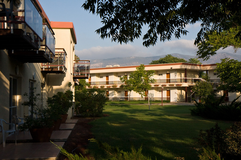 The hotel in Kfar Blum, one of the largest and most successful in the upper galilee