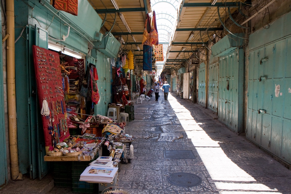 The old market of Jerusalem