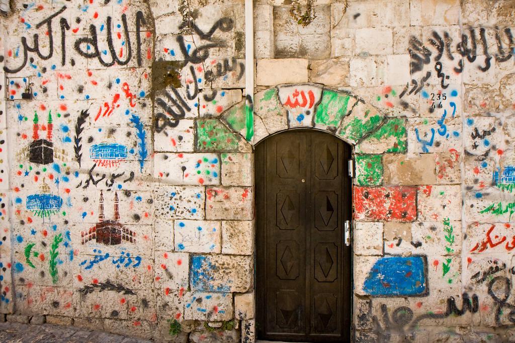 Old city graffiti