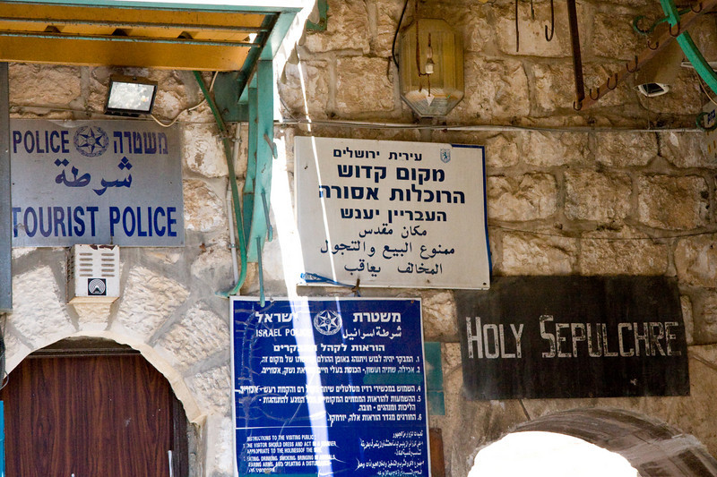 Near the Church of the Holy Sepulchre