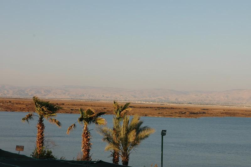 Jordan across, Dead Sea. Israel