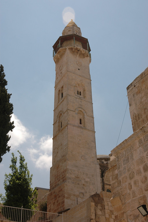 Tower Church of the Redeemer, Old City Jerusalem