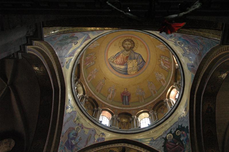 Ceiling Holy Sepulcher Church, Jerusalem Old City
