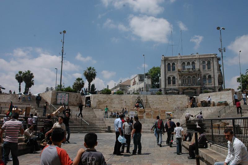 Outside Damascus Gate, Old City Jerusalem
