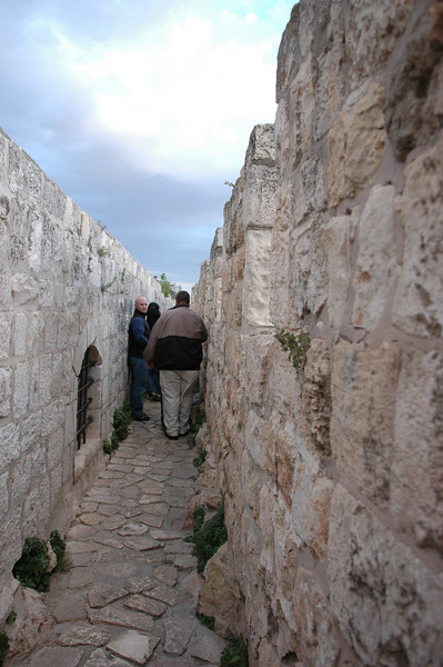 Between City Walls, Jerusalem Old City