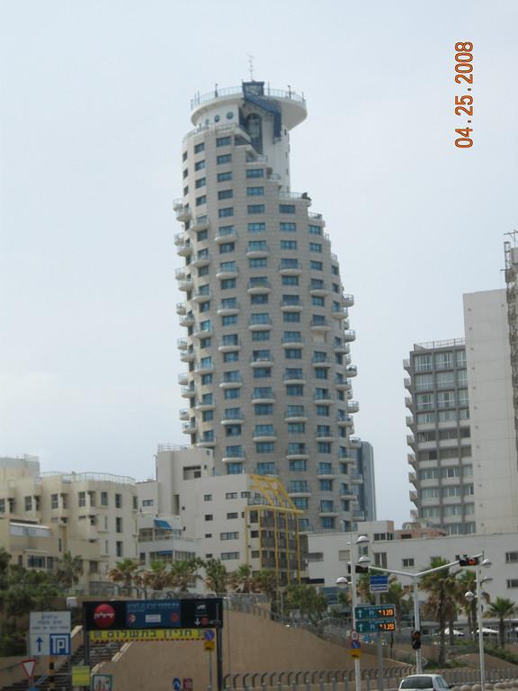 Strange architecture at Tel Aviv