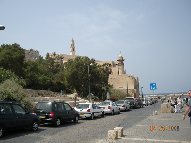 Clock Tower and Sea Mosque at Old Jaffa
