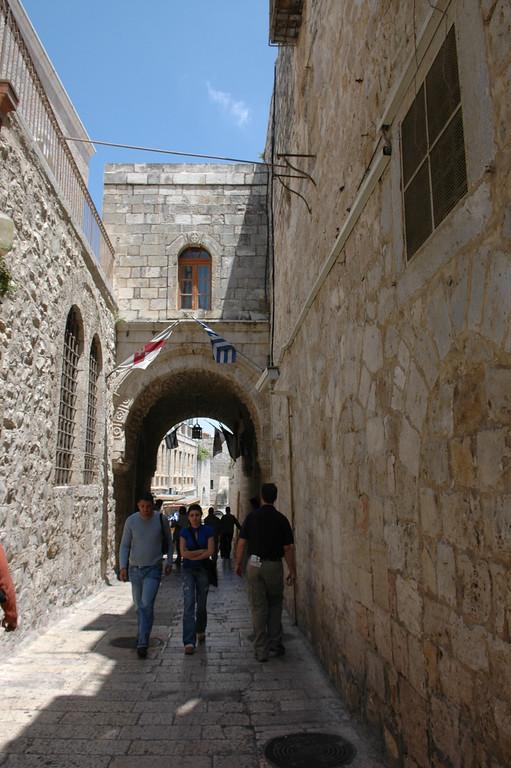 Via Delarosa, Old City Jerusalem