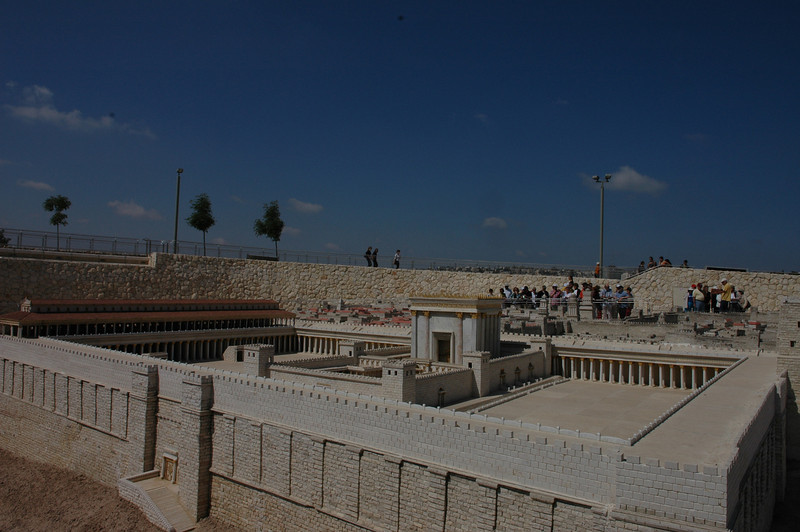 Model of the Second Temple Period, Israel Museum, Jerusalem