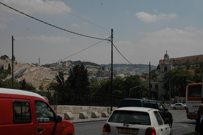 Outside Lion's Gate/St Stephen's Gate, Jerusalem
