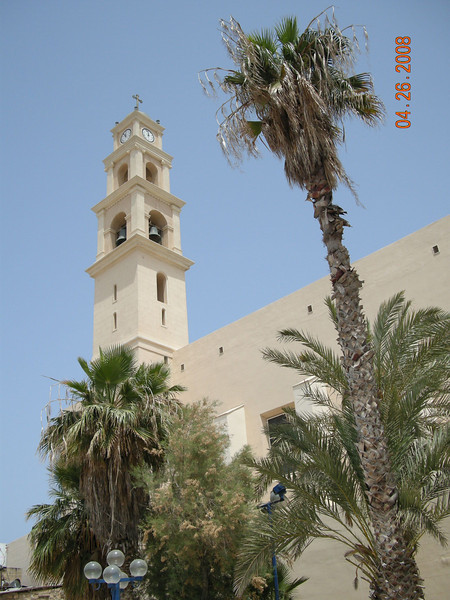 St Peter's Church Clock Tower at Old Jaffa