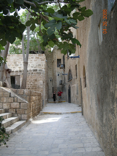 Artist Alleyway at Old Jaffa