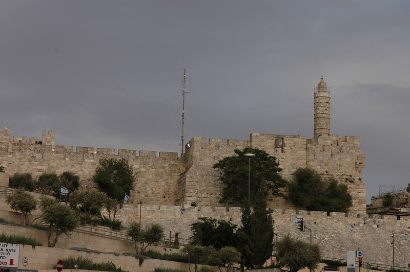 Tower of David near Jaffa Gate, Jerusalem Old City