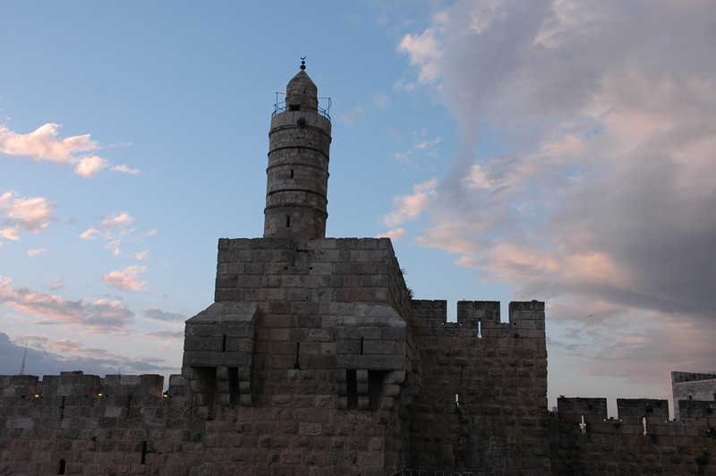 Sunset and Tower of David, Jerusalem Old City