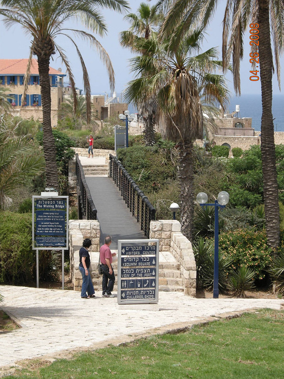 Wishing Bridge, Old Jaffa